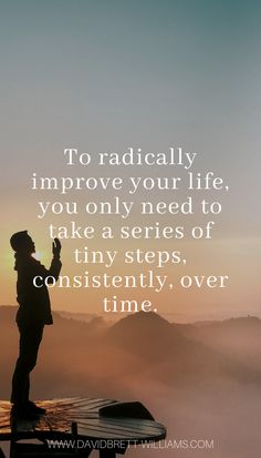 My goal is to share my knowledge and help you live an outstanding life. Resilience Quotes, Tiny Steps, My Goals, Need You, Small Things, Moving Forward, Determination, Recovery, Improve Yourself