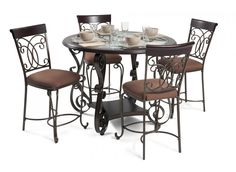 bombay pub 5 piece dining set dining room sets dining room bobu0027s discount