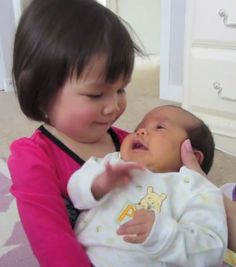 Such a great big sis!  #itsjudyslife