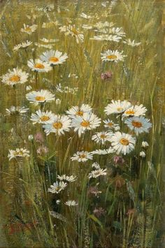 """""""Meadow Flowers"""" by Elin Kleopatra Danielson-Gambogi September 1861 – 31 December was a Finnish painter, best known for her realist works and portraits. Meadow Flowers, Wild Flowers, Floral Flowers, Art Et Illustration, Wow Art, Pics Art, Painting Techniques, Painting & Drawing, Painting Frames"""