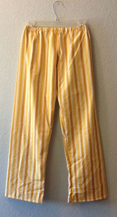 Pajama Pants from your own pattern!  Easy to make pattern for yourself.
