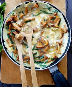 Mushrooms Omelette recipe