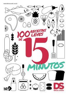Livro de Receitas Leves de 15 Minutos - Dieta e Saúde
