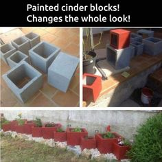 120 DIY Cinder Block Ideas to Decorating Your Outdoor Space - Wartaku.net