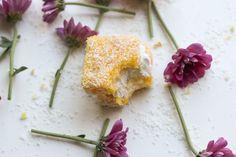Our twist on the traditional Kiwi & Aussie snack – Lemon Lamingtons.