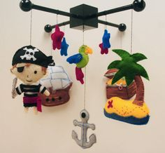 Pirates baby mobile