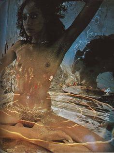 Nude #1Granary #DonyaleLuna #70s #fashion #model #pose #dreamy