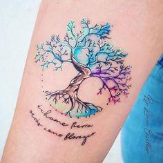 Badass Tattoos, Sexy Tattoos, Body Art Tattoos, Small Tattoos, Tattoos For Women, Tree Of Life Tattoos, Tattoos Of Trees, Funny Tattoos, Tattoo Small