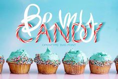 Be My Candy - OTF Color Font by Anastasiia Macaluso on @creativemarket