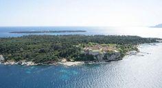Les îles de Lérins en vue aérienne - Photographe Kelagopian - © Ville de Cannes