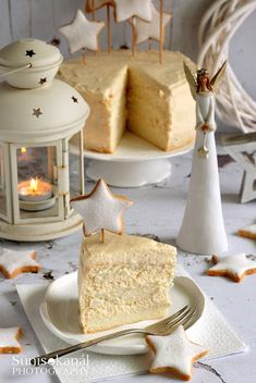 Torte Cake, Xmas Decorations, Cake Cookies, Food And Drink, Cooking Recipes, Sugar, Cheese, Baking, Sweet