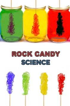 Can you make rock candy from Kool-aid? (SCIENCE FOR KIDS) rockcandy rockcandyrecipe koolaidrockcandy koolaidrecipes rockcandydiy rockcandyrecipeeasy howtomakerockcandy scienceforkids 405535141440245620 Rock Candy Experiment, Candy Experiments, Cool Science Experiments, Kindergarten Science Experiments, Science Education, Higher Education, Science Projects For Kids, Science Activities For Kids, Fun Crafts For Kids