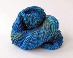 HandPainted DK Superwash Merino Wool Yarn  by MammothWoolworks