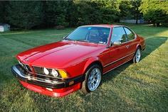 BMW 635 CSi front view