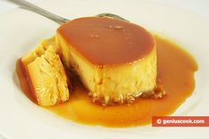 The Recipe for Crème Caramel | Baked Goods | Genius cook - Healthy Nutrition, Tasty Food, Simple Recipes