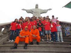 CONSTRUINDO COMUNIDADES RESILIENTES: Corpo de Bombeiros Forma 120 alunos do Projeto Lob...