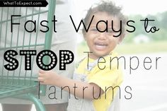 6 strategies to stop a temper tantrum in its tracks