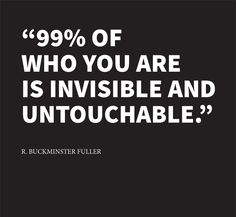 Words of a genius . R. Buckminster Fuller . The real creativity behind
