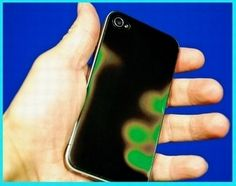 Thermocromic ink phone case