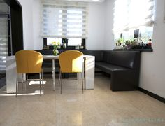 Small Rooms, Countertops, Kitchen Decor, Decorating Ideas, Flooring, Stone, Natural, Wall, Furniture