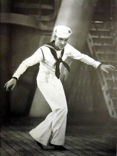 Fred Astaire, 1930s, publicity shot for Follow The Fleet (1936) - really cool picture :)