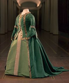 Uniform dress of Catherine the Great, 1763    From the State Hermitage Museum