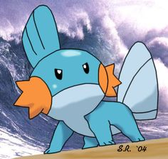 So I heard you liek mudkipz. Gotta Catch Them All, Catch Em All, Cool Pokemon Pictures, Water Type Pokemon, Baby Pokemon, All Video Games, Mudkip, Geek Girls, I Am Game