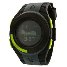 Nixon Outsider Tide Watch - Men's Gray/Black/Lime, One Size NIXON. $113.26. Band color: gray/black. Dial color: black digital dial. Model: A128485. Brand:Nixon. Condition:brand new with tags. Outsider Tide Watch. Save 41%!