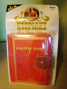Remember getting one of these in grade. Wish I still had it to remember those innermost childhood thoughts. My Childhood Memories, Childhood Toys, Great Memories, 1970s Childhood, Nostalgia, Fisher Price, Diary With Lock, I Remember When, Ol Days