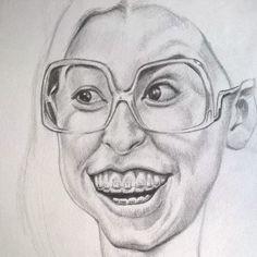 #sketching #sueheck #edensher #themiddle #caricatura