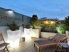 Una terraza ático para vivirla