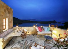 Melenos Hotel in Lindos, Rhodes