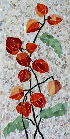 Wall by KupavaArtHome Mosaic Tray, Mosaic Tile Art, Mosaic Artwork, Mosaic Crafts, Mosaic Projects, Mosaic Glass, Mosaic Designs, Mosaic Patterns, Decorative Wall Tiles