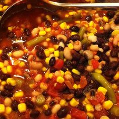 Quick and Easy Vegetarian Taco Soup Recipe Even the meat lovers will approve.