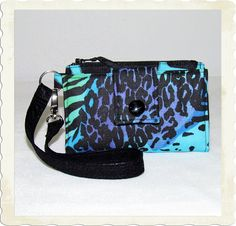 Cell Phone, Smart Phone, Wallet, Wristlet with card holder   iPhone 4s Wallet