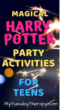 Harry Potter Birthday Party Activities for Teens. Easy and simple Harry Potter party ideas for hosting an awesome Harry Potter Party at Hogwarts. Simple ideas for decorating Hogwarts Common Rooms.