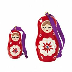 Suspension poupée Russe - lot de 2 - A découvrir sur le site de vente Blancheporte