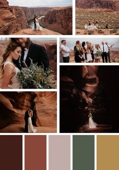 Grand Canyon - Destination Wedding Color Trends
