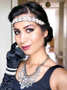 Blogger Serena Verbon van Beautylab.nl maakte een Great Gatsby look. Klik  op de