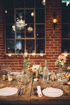 Italian villa dinner party inspired wedding - photo by Joyeuse Photography http://ruffledblog.com/italian-villa-dinner-party-inspired-wedding