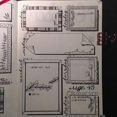 Next week in my is inspired by the amazing doodles from 💕💕💕. Zen Doodle, Doodle Art, Next Week, Bujo, Journaling, Doodles, Bullet Journal, Inspired, Amazing