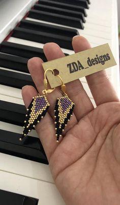 image 0 diy jewelry unique Miyuki earrings, dangle earrings, unique earrings, Miyuki Beaded Dangle sparkling earrings for women designed by ZDA Seed Bead Earrings, Tassel Earrings, Women's Earrings, Chandelier Earrings, Beaded Chandelier, Earrings Online, Diy Jewelry Unique, Unique Earrings, Handmade Beaded Jewelry
