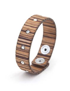 DANDY STRIPED ZEBRANO #bracelet #fashion #woodbracelet #wood #design #madeinitaly