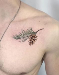 Check out our website for more Tattoo Ideas 👉 positivefox.com #chesttattoos