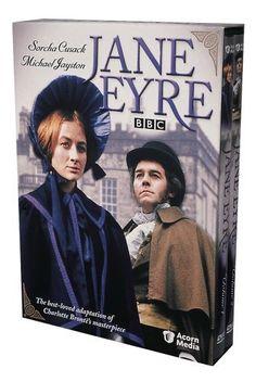 """Jane Eyre"" [1973] miniseries, starred Michael Jayston, Sorcha Cusack, Meg Jenkins, Stephanie Beecham."