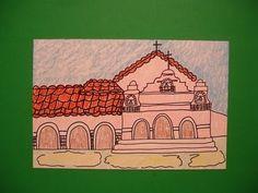 Let's Draw Mission San Antonio de Padua!