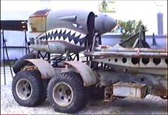 """The Road Raiders"" P-38 Lightning detail"