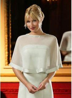 Chiffon Elegant Jacket - Wedding Accessories - RainingBlossoms - over MOB dress? Bridal Dresses Online, 2015 Wedding Dresses, Wedding Dresses Plus Size, Bridal Gowns, Ball Dresses, Ball Gowns, Evening Dresses, Prom Dresses, Bride Dresses