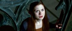HARRY POTTER AND THE DEATHLY HALLOWS: PART 2, Bonnie Wright, 2011. ©2011 Warner Bros. Ent. Harry Potter publishing rights ©J.K.R. Harry Potter characters, names and related indicia are trademarks of and ©Warner Bros. Ent. All rights reserved.