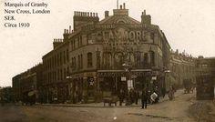 Marquis of Granby, 322 New Cross Road - circa 1910